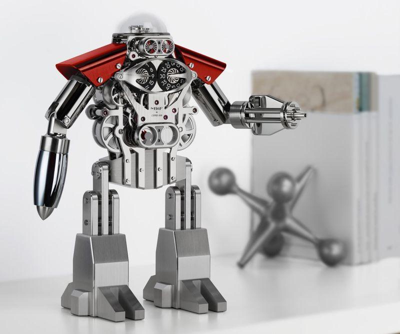 Complex Robotic Clocks