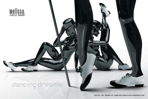 Plastic Fantastic Shoe Ads