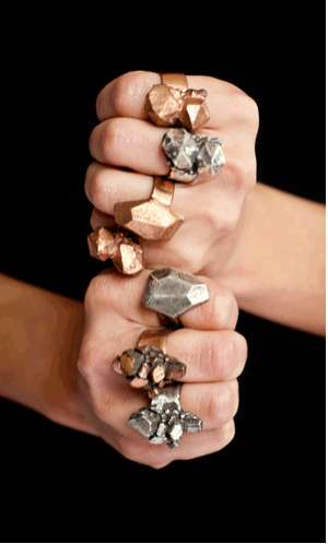 Mineral-Inspired Adornments