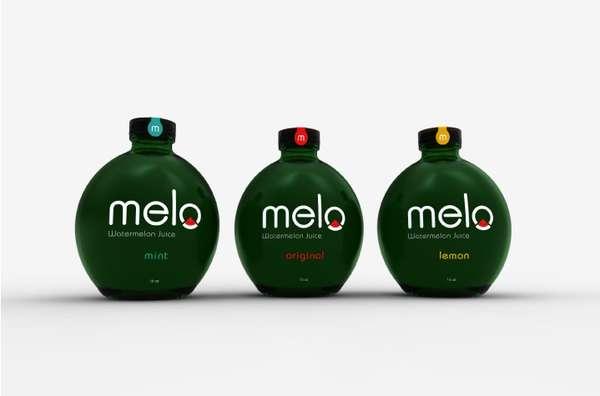 Gourd-Shaped Beverage Branding