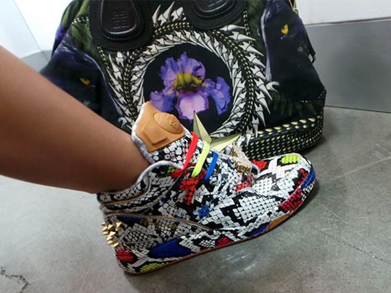 80s-Inspired Graphic Sneakers