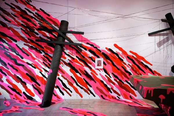 Pink Political Art