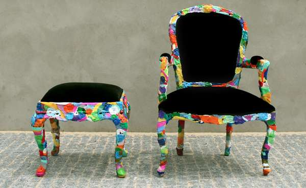 Scrap Plastic Furnishings