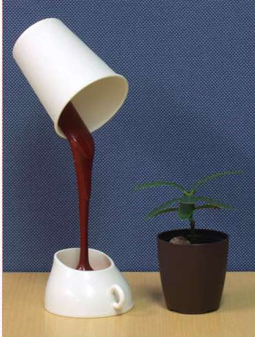 melty chocolate usb lamp