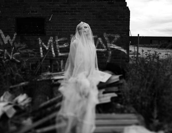 Haunting Bride Photography