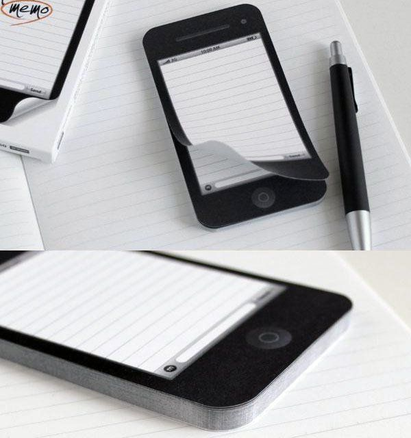 Punny Phone Notepads : memo notepad