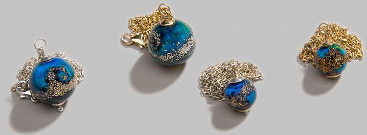 Commemorative Cremation Jewelry