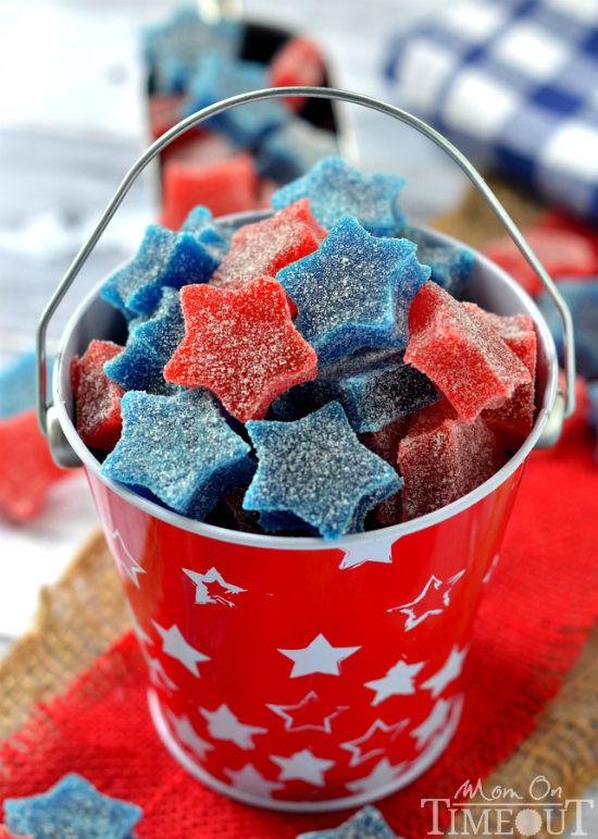 Patriotic Star Gumdrops