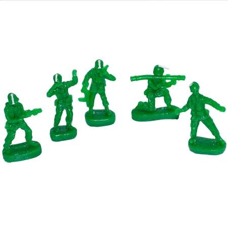 Soldier Combat Candles