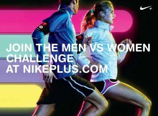 Men vs. Women Challenge Ads