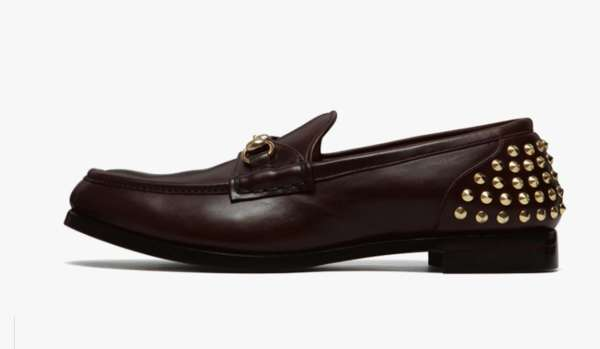 Sleekly Studded Mens Loafers