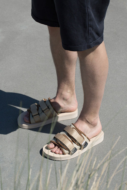 Modern Neutral-Toned Sandals