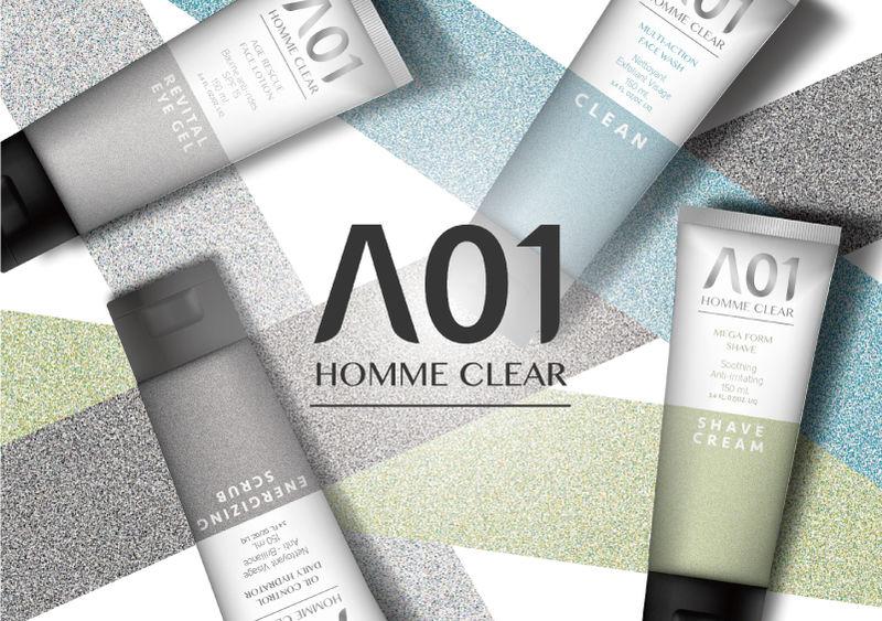 Masculine Cosmetics Branding