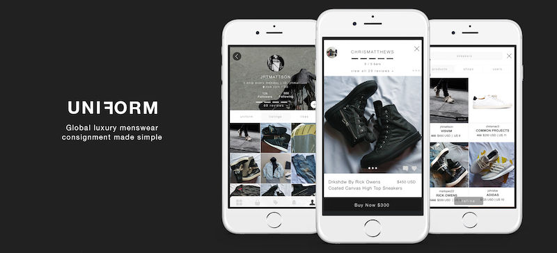 Menswear Shopping Apps