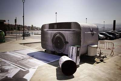 Jumbo Camera Street Art