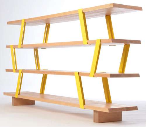 Scaffolding Inspired Shelving Meo Shelf