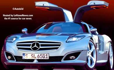 Mercedes 300SL Gullwing Design is Coming Back