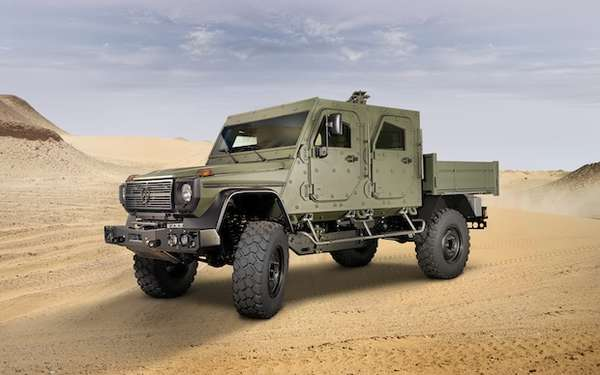 Mercedes Armored Vehicles