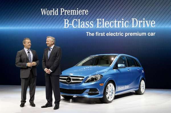 Electric Luxury Vehicles