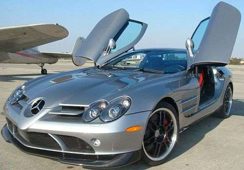 $500,000 Supercar on eBay- Mercedes-Benz McLaren SLR 722 Edition