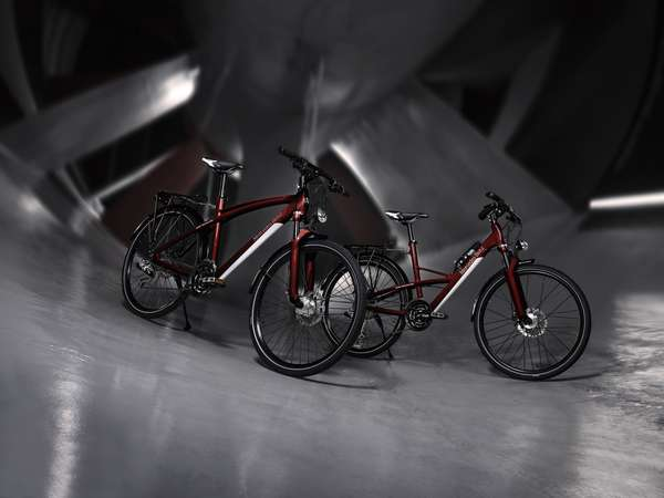 Mercedes benz bicycles luxury automaker releases for Mercedes benz bicycles