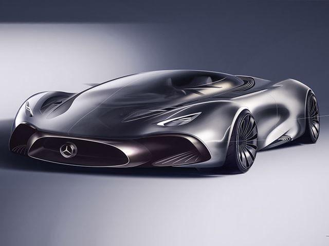Transparent Hypercar Concepts Mercedes Hybrid Supercar