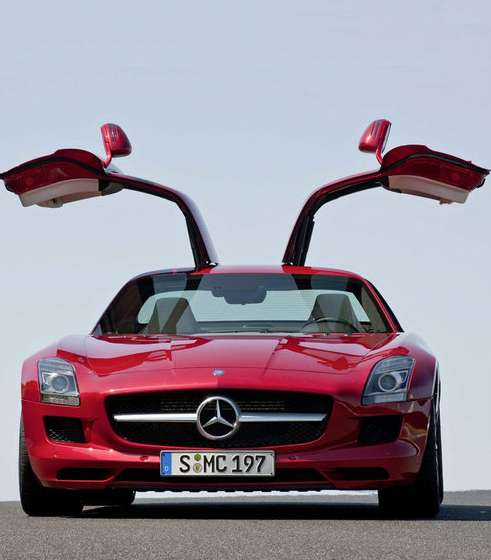 Delorean-Inspired Super Cars: Mercedes SLS AMG Gullwing
