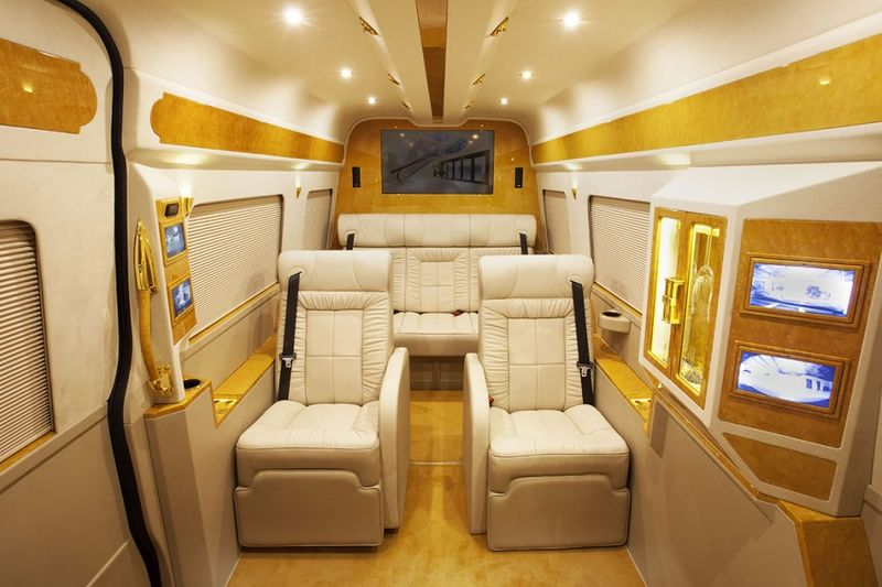 Custom Luxury Minibuses Mercedes Sprinter Van