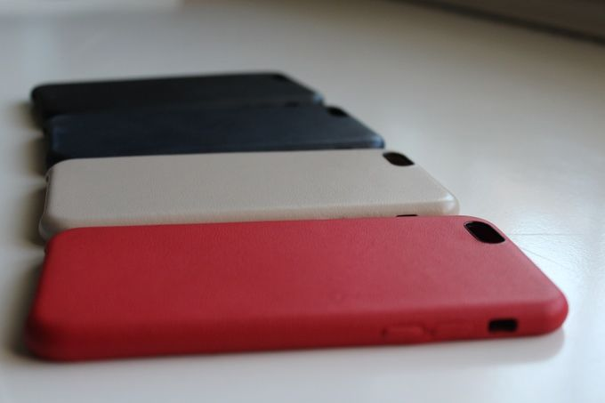 Lamb Leather Smartphone Sheaths
