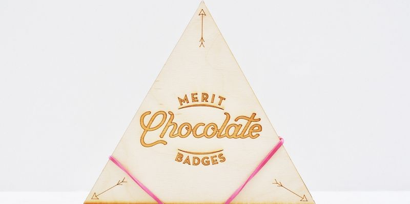 Merited Chocolate Packaging