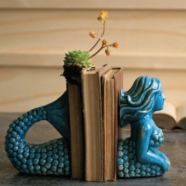 Mythological Aquatic Bookends