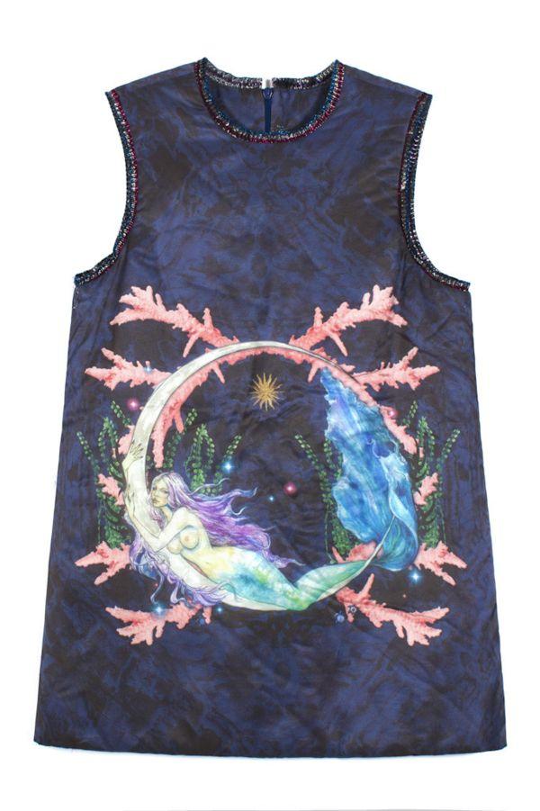 Drawn Mermaid Dresses