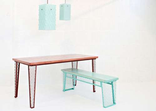 Netted Metal Furniture
