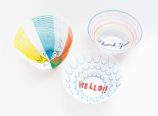 Personalized Paper Vessels