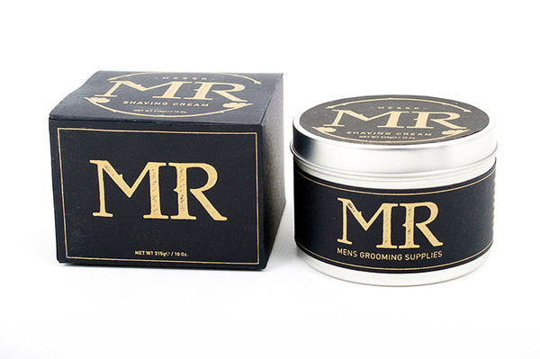 Authoritative Male Cosmetic Branding