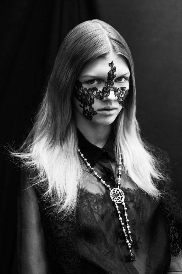 Lace Face Editorials