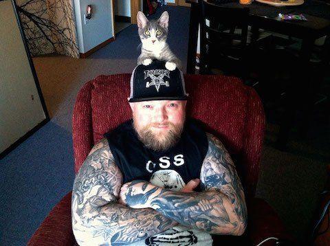 Feline-Loving Metalheads