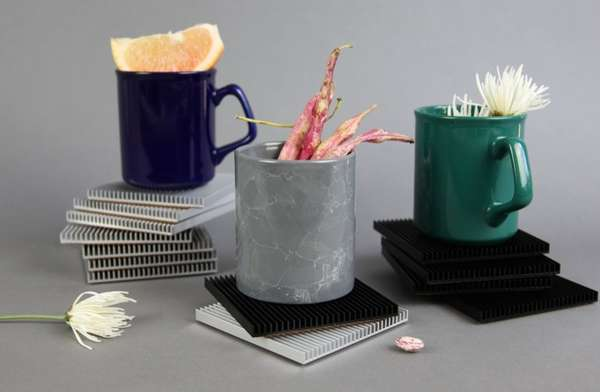 Drink-Cooling Coasters