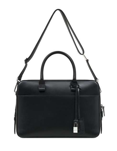 Sharply Structured Men's Satchels
