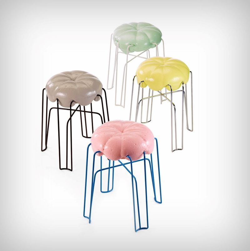 Whipped Cushion Stools