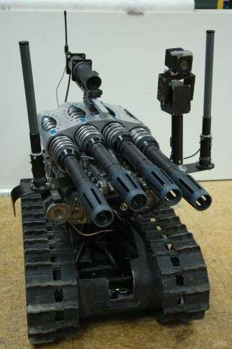 Robot Fires Million Rounds/Minute
