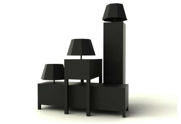 Illuminating Sculptural Sideboards