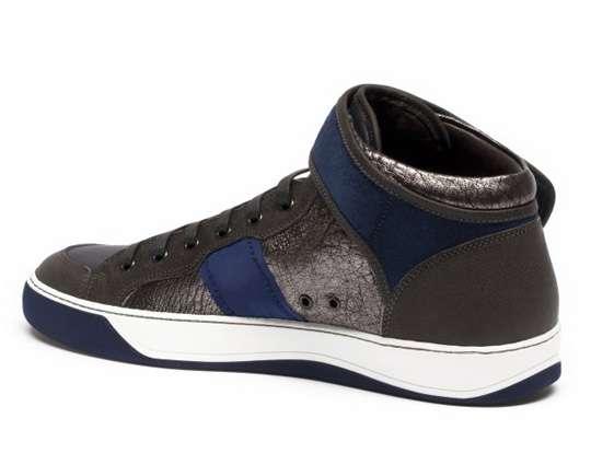 Luminous Leather Sneakers