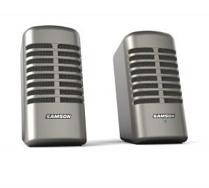 Retro Microphone Speakers