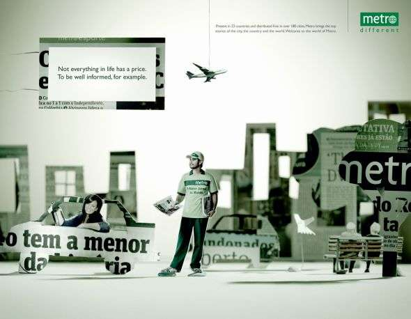 Metro Newspaper Print Ads