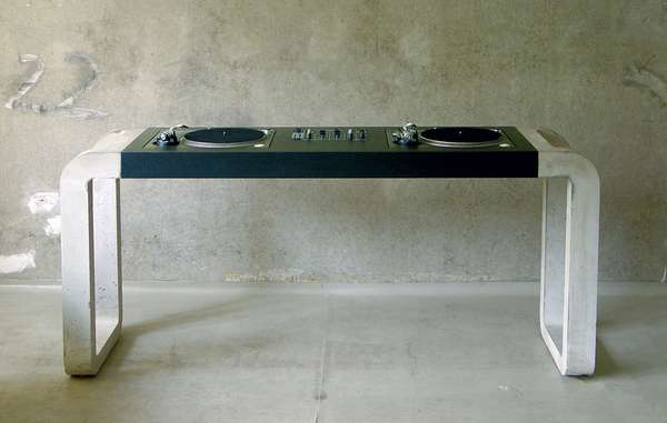 Cemented Turntable Tables