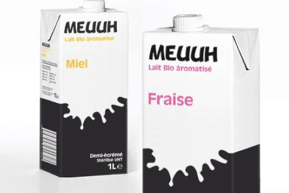 Meuuh Lait Packaging