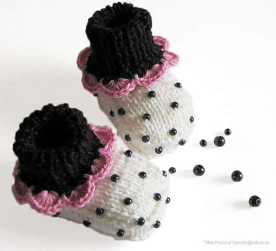 Fruity Baby Booties