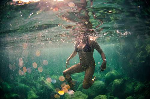 Submerged Surf Photography