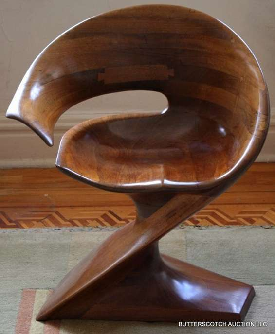 Fluidly Sculptural Furniture